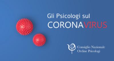Gli Psicologi sul Coronavirus