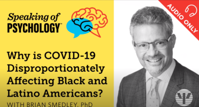 Why is COVID 19 Disproportionately Affecting Black and Latino Americans with Brian Smedley, PhD